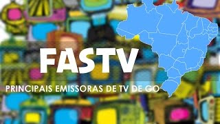 Confira as 5 principais emissoras de TV de Goiás - FASTV #37