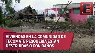Guerrero aún no se recupera por el paso de la tormenta Max