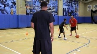 How to Throw a Dribble Pass   Basketball Moves