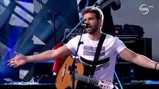 "Pablo Alborán ""Por fin"" - Festival Viña del Mar 2016 HD"
