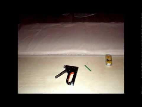 Come imbottire una testata del letto fai da te mania - Come realizzare una testata letto ...