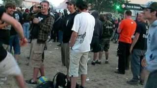 Hellfest 09  - Final Countdown - hilarious
