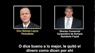 Declaraciones Humberto Fayad