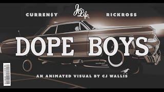 "Curren$y - ""Dope Boys"" ft Rick Ross (Official 4K Video)"