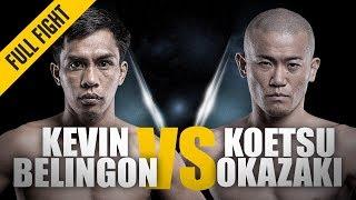 ONE: Full Fight | Kevin Belingon vs. Koetsu Okazaki | Stand-Up Battle | December 2014 width=