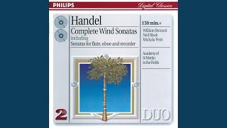 Handel: Oboe Sonata in f major, HWV 363a - 4. Bourrée (Angloise)