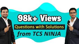 TCS NQT 2020 Official Mock Test Fully Solved | Quantitative