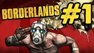 Borderlands Walkthrough: Part 1 - The Journey Begins (Gameplay/Commentary) PS3 PC Xbox