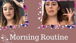 Current Winter Morning Routine | In a Cast
