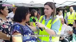 Novas de Paz nas ruas ganhando vidas pra Jesus - Clarissa Tercio