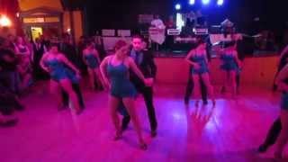 Boston Touch Bachata Performance at Salsa Y Control Vinyl Jam Salsa Social  April 2014