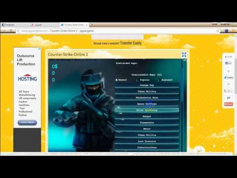 لعب لعبة  Counter Strike  بدون تنصيب