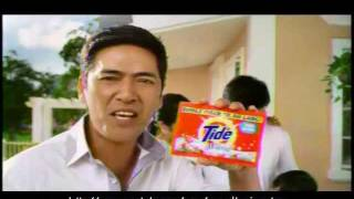 Vic Sotto - Tide w/ freshness of Downy TVC