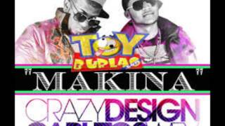 "carlitos wey ft crazy design-""makina''(nuevo 2013)"
