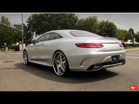 "Mercedes S550 4MATIC Coupe on 24"" LF-746"