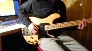 Muse - micro cuts (Bass cover by Giacomo Di Renzo)