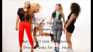 Neon Jungle - Trouble (Lyrics and pictures)