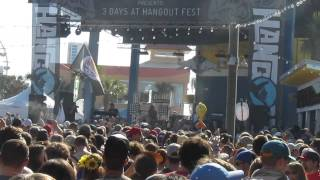 Moon Taxi Covers Rage Against the Machine - Hangout Fest 2014 -