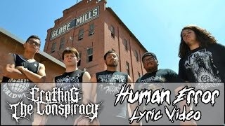 Crafting The Conspiracy - Human Error (Lyric Video)