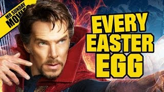 DOCTOR STRANGE All Easter Eggs, Cameos & Post Credit Scenes
