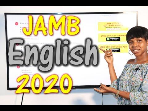JAMB CBT English 2020 Past Questions 1 - 20