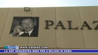 LA GDF SEQUESTRA BENI PER 8 MILIONI DI EURO