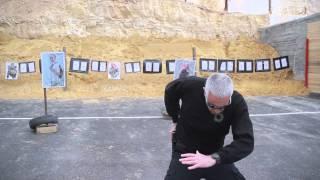 How to draw a Handgun & shoot .