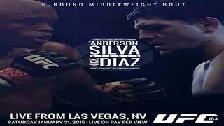 UFC 183 Silva vs Diaz Promo/Trailer