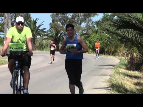 lefkada green half marathon sunset run