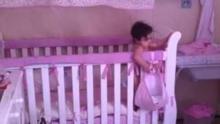 Melina dançando tchu tcha tcha