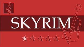 Violin & Guitar Duet - The Elder Scrolls - Morrowind - Skyrim (Sheet music - Guitar chords)