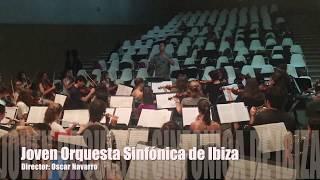 Oscar Navarro-Joven Orquesta Sinfónica de Ibiza(Ensayo)
