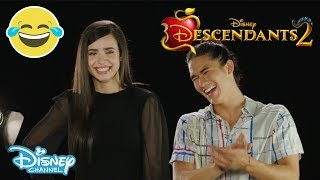 Descendants 2 | Who Said that? ft. Sofia Carson & Booboo Stewart | Official Disney Channel UK