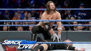 James Ellsworth vs. AJ Styles - WWE Championship Match: SmackDown LIVE, Dec. 20, 2016