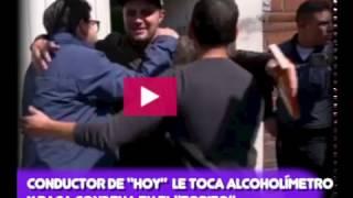 """A CONDUCTOR DE """"HOY"""" LE TOCA ALCOHOLÍMETRO Y PAGA CONDENA EN EL """"TORITO"""""""