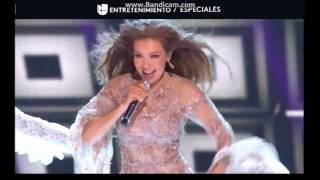 Thalia Ft. De La Ghetto - Todavia Te Quiero [Live Premios Lo Nuestro 2017] (FULL HD)