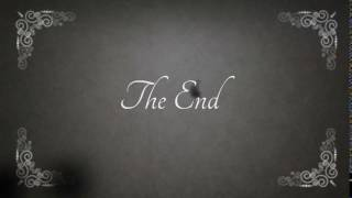 Old Movie The End Film With Sound Effect HD FREE