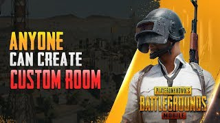 How to Create a Room in PUBG Mobile | PUBG Free Custom Room