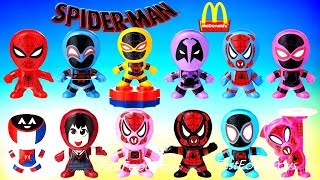 2018 McDONALDS SPIDER-MAN INTO THE SPIDER-VERSE HAPPY MEAL TOYS WRECK IT RALPH BREAKS THE INTERNET 2