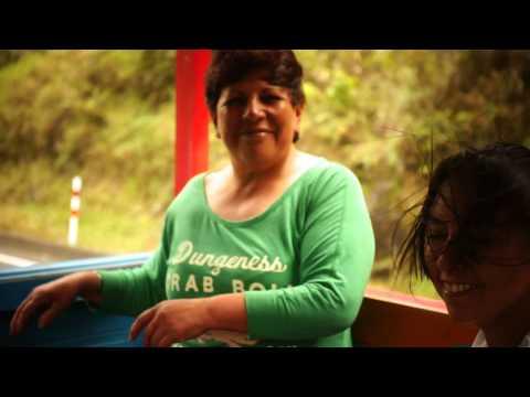 Happy song, happy people and happy journey,  in Baños, Ecuador