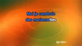 Karaoké Les marionnettes - Christophe *