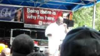 Lincoln Park 5th Annual Music Festival 2010 in Newark NJ - Kenny Bobien Live -