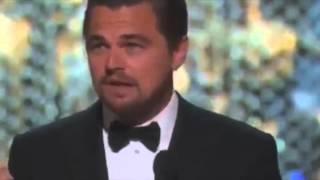 Leonardo DiCaprio ganha Oscar de melhor ator (O Regresso) - Legendado PT/Br
