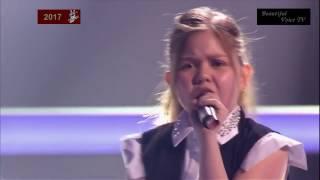 Stasya/Nurlan/Alina. 'Rockabye'. The Voice Kids Russia 2017.
