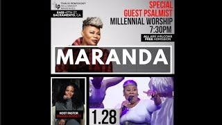 Maranda Curtis in Sacramento, CA this Sunday! (1.28.18)