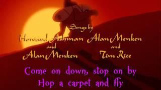 Aladdin - Arabian Nights (Sing Along Lyrics)