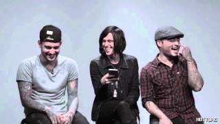 Sleeping With Sirens Twitter Q&A @HotTopic