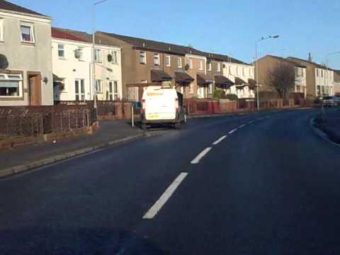 Irvine Ayrshire Scotland Old Caley Road (Winton Road) 9jan2011.Nokia 6303