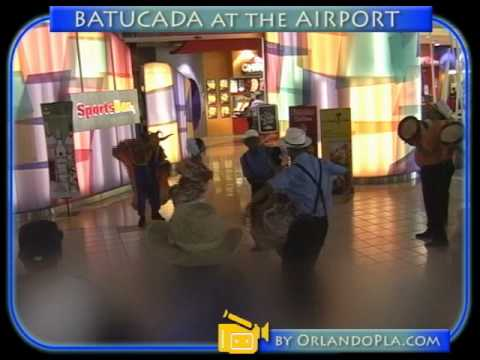 BATUCADA AT PUERTO RICO AIRPORT