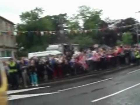 olympic torch relay beith – london 2012